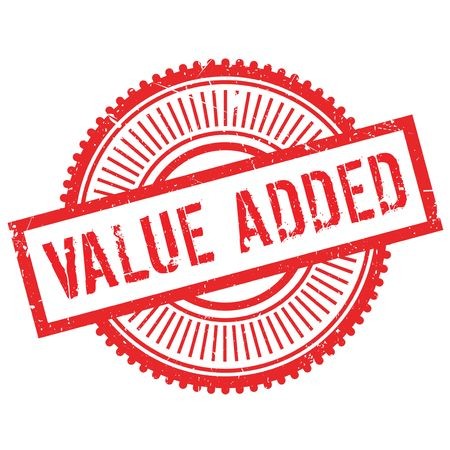 value add: Value added stamp