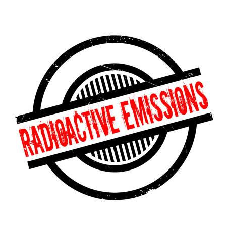 emissions: Radioactive Emissions rubber stamp