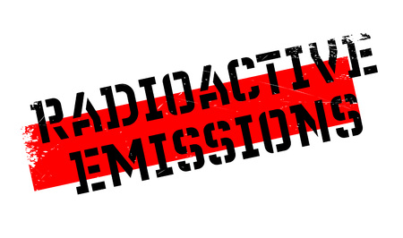 Radioactive Emissions rubber stamp