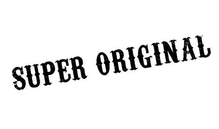 incomparable: Super Original rubber stamp