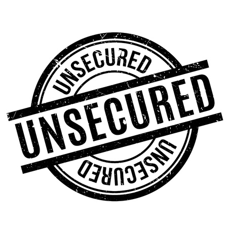 unbound: Unsecured rubber stamp. Grunge design with dust scratches. Effects can be easily removed for a clean, crisp look. Color is easily changed. Stock Photo