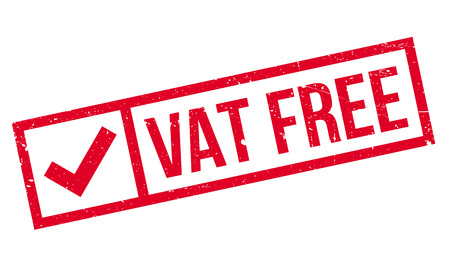vat: Vat Free rubber stamp. Grunge design with dust scratches. Effects can be easily removed for a clean, crisp look. Color is easily changed.