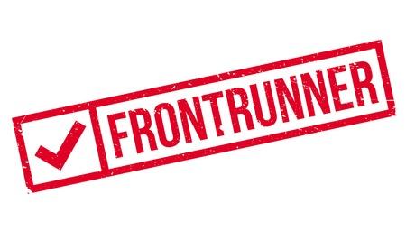 Frontrunner rubber stamp