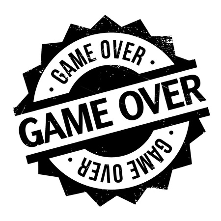 concluded: Game Over rubber stamp