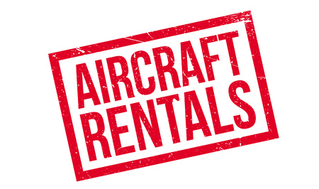 rentals: Aircraft Rentals rubber stamp. Grunge design with dust scratches. Effects can be easily removed for a clean, crisp look. Color is easily changed.