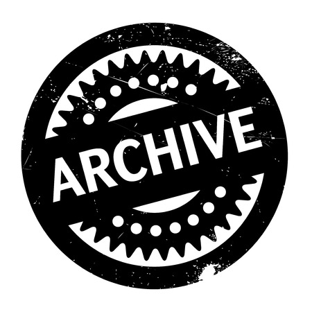 clippings: Archive rubber stamp. Grunge design with dust scratches. Effects can be easily removed for a clean, crisp look. Color is easily changed.