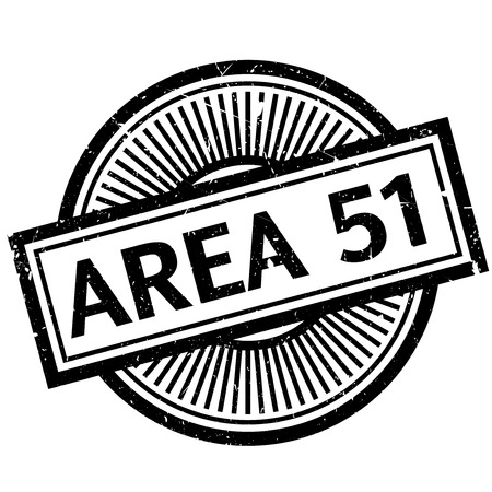 area 51: Area 51 rubber stamp. Grunge design with dust scratches. Effects can be easily removed for a clean, crisp look. Color is easily changed.