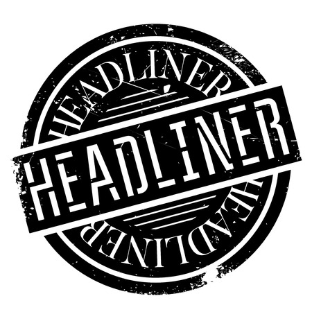 thespian: Headliner rubber stamp. Grunge design with dust scratches. Effects can be easily removed for a clean, crisp look. Color is easily changed.