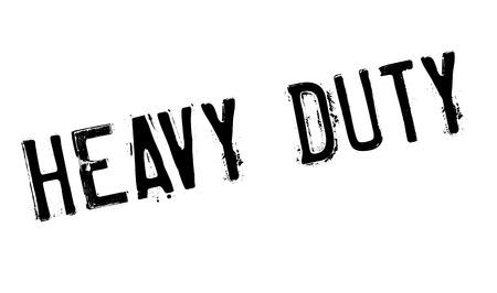 Heavy Duty timbro di gomma. disegno del grunge con graffi di polvere. Gli effetti possono essere facilmente rimossi per un look pulito e fresco. Il colore è molto semplice. Vettoriali