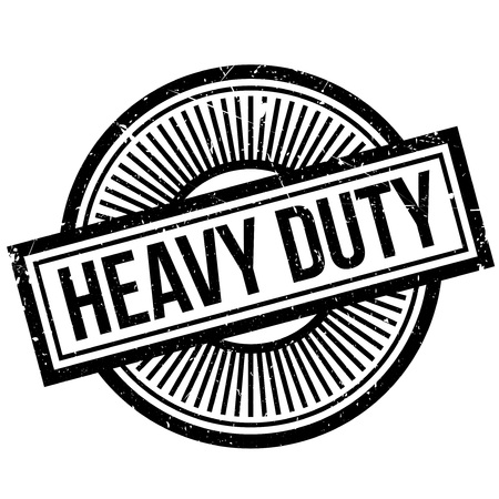 heavy duty: Heavy Duty rubber stamp. Grunge design with dust scratches. Effects can be easily removed for a clean, crisp look. Color is easily changed.