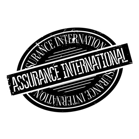 oath: Assurance International rubber stamp. Grunge design with dust scratches. Effects can be easily removed for a clean, crisp look. Color is easily changed.