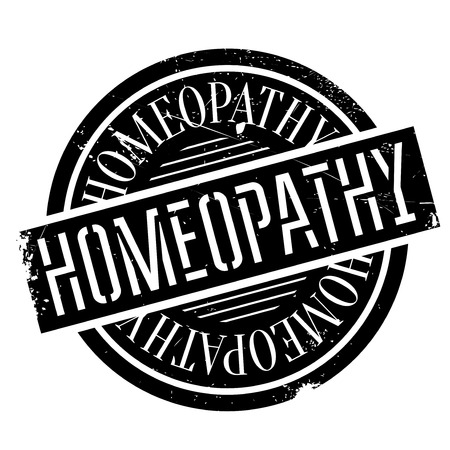 homeopathy: Homeopathy rubber stamp. Grunge design with dust scratches. Effects can be easily removed for a clean, crisp look. Color is easily changed.