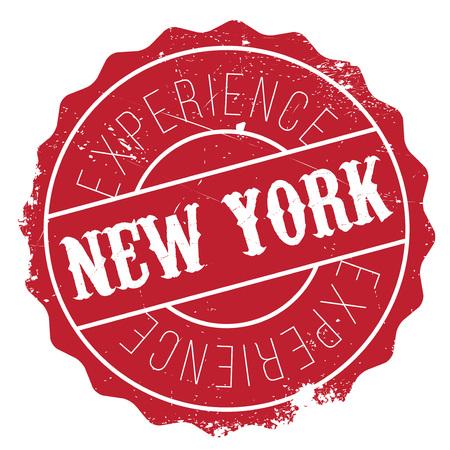 la: New York stamp
