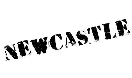 Newcastle stamp rubber grunge