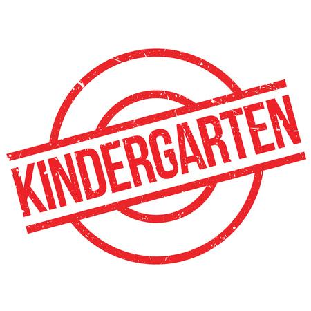 babysit: Kindergarten rubber stamp