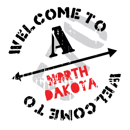 dakota: North Dakota stamp