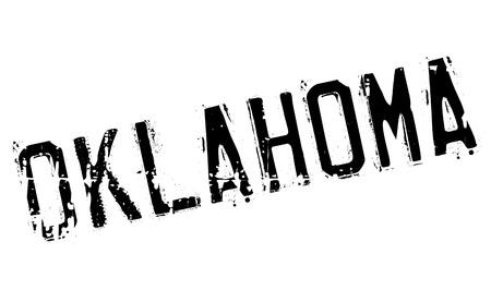 oklahoma: Oklahoma stamp rubber grunge