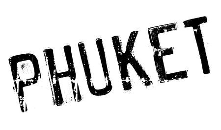 Phuket stamp rubber grunge