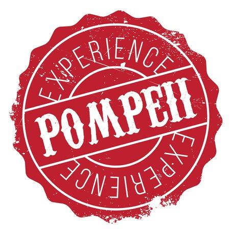 Pompeii stamp rubber grunge