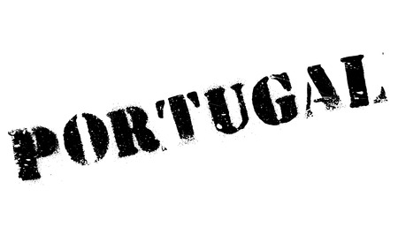 transnational: Portugal stamp rubber grunge