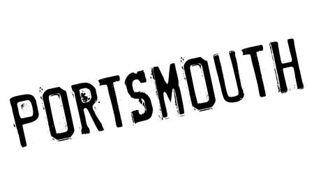 hants: Portsmouth stamp rubber grunge
