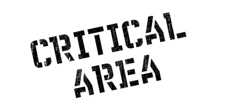 cynical: Critical Area rubber stamp. Grunge design with dust scratches. Effects can be easily removed for a clean, crisp look. Color is easily changed.