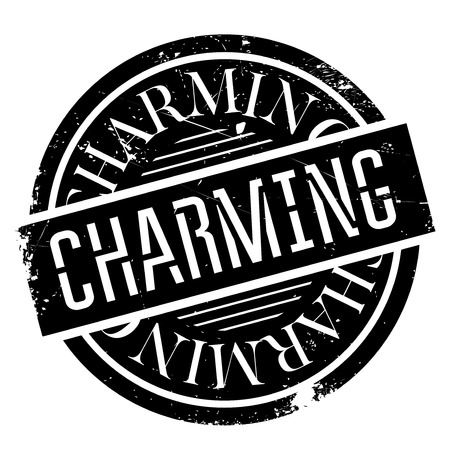 Charming rubber stamp. Grunge design with dust scratches. Effects can be easily removed for a clean, crisp look. Color is easily changed.