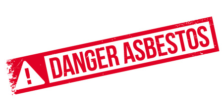 asbestos: Danger Asbestos rubber stamp. Grunge design with dust scratches. Effects can be easily removed for a clean, crisp look. Color is easily changed.