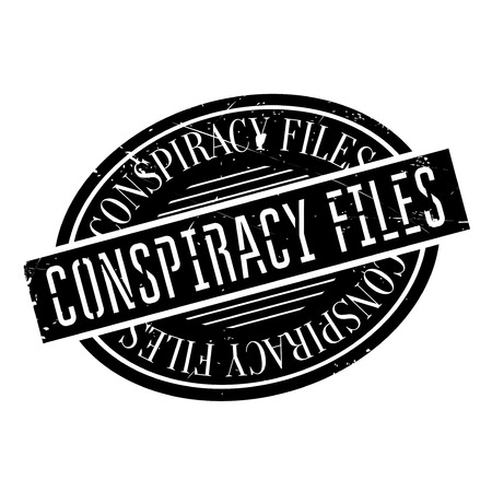 canceled: Conspiracy Files rubber stamp. Grunge design with dust scratches. Effects can be easily removed for a clean, crisp look. Color is easily changed.