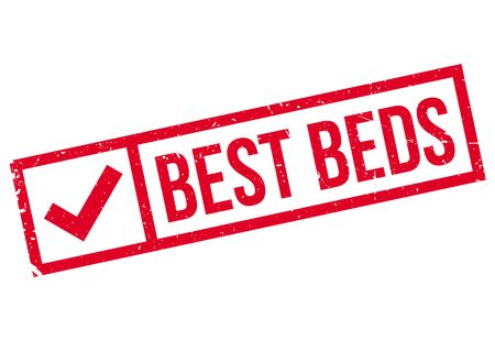 optimum: Best Beds rubber stamp. Grunge design with dust scratches. Effects can be easily removed for a clean, crisp look. Color is easily changed.