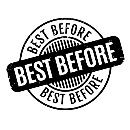 best: Best Before rubber stamp. Grunge design with dust scratches. Effects can be easily removed for a clean, crisp look. Color is easily changed.