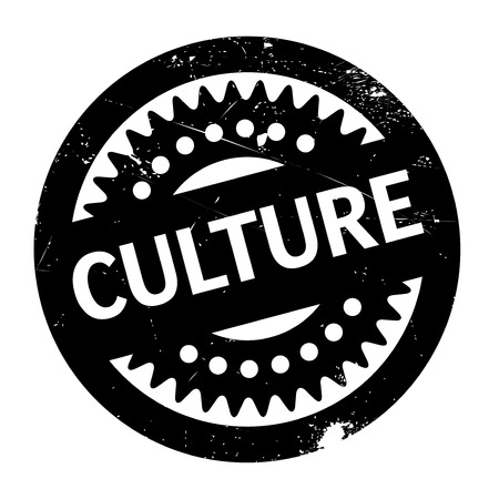 craftsperson: Culture rubber stamp. Grunge design with dust scratches. Effects can be easily removed for a clean, crisp look. Color is easily changed.