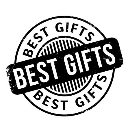 apt: Best Gifts rubber stamp Illustration