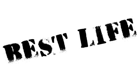 apt: Best Life rubber stamp. Grunge design with dust scratches. Effects can be easily removed for a clean, crisp look. Color is easily changed. Stock Photo