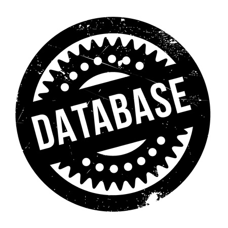 metadata: Database rubber stamp. Grunge design with dust scratches. Effects can be easily removed for a clean, crisp look. Color is easily changed.