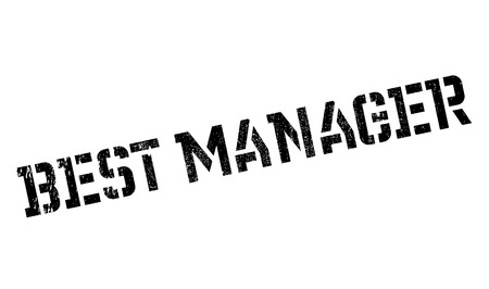 manager: Best Manager rubber stamp