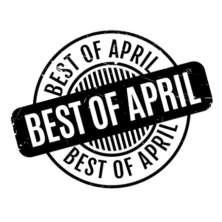 apt: Best Of April rubber stamp. Grunge design with dust scratches. Effects can be easily removed for a clean, crisp look. Color is easily changed.