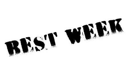 recovering: Best Week rubber stamp. Grunge design with dust scratches. Effects can be easily removed for a clean, crisp look. Color is easily changed.