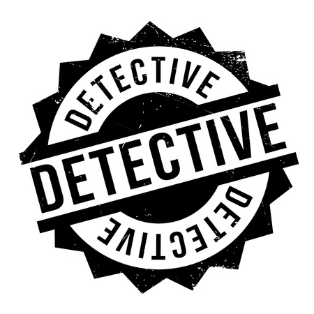 snoop: Detective rubber stamp. Grunge design with dust scratches. Effects can be easily removed for a clean, crisp look. Color is easily changed.