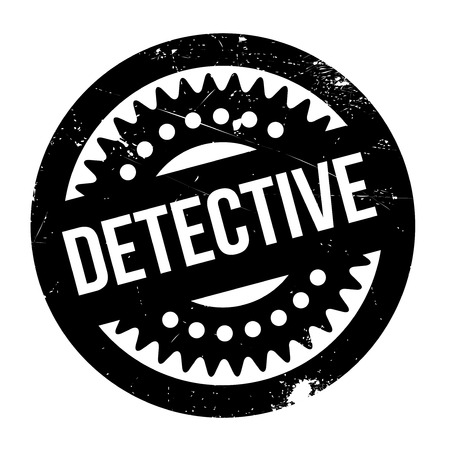 flatfoot: Detective rubber stamp. Grunge design with dust scratches. Effects can be easily removed for a clean, crisp look. Color is easily changed.