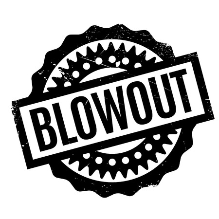 complementary: Blowout rubber stamp. Grunge design with dust scratches. Effects can be easily removed for a clean, crisp look. Color is easily changed.