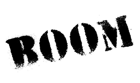 contaminated: Boom rubber stamp. Grunge design with dust scratches. Effects can be easily removed for a clean, crisp look. Color is easily changed.