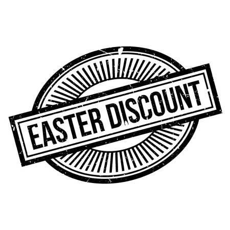 drawback: Easter Discount rubber stamp. Grunge design with dust scratches. Effects can be easily removed for a clean, crisp look. Color is easily changed.