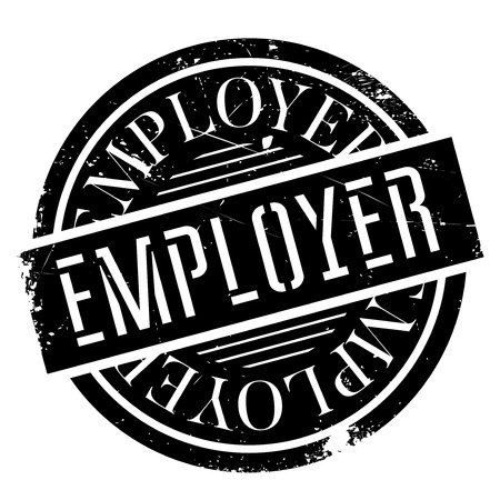 proprietor: Employer rubber stamp. Grunge design with dust scratches. Effects can be easily removed for a clean, crisp look. Color is easily changed.