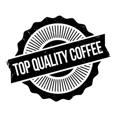 Top Quality Coffee rubber stamp. Grunge design with dust scratches. Effects can be easily removed for a clean, crisp look. Color is easily changed. Illustration