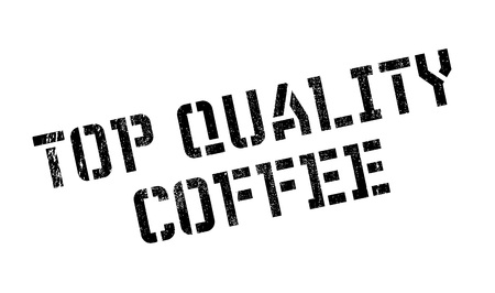 leading the way: Top Quality Coffee rubber stamp. Grunge design with dust scratches. Effects can be easily removed for a clean, crisp look. Color is easily changed. Illustration