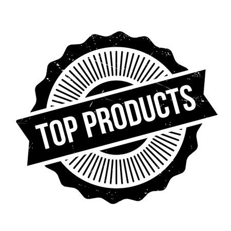 principal: Top Productos sello de caucho. Diseño de grunge con rasguños de polvo. Los efectos se pueden quitar fácilmente para un aspecto limpio y nítido. El color se cambia fácilmente.