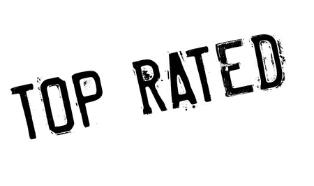 rated: Top Rated rubber stamp. Grunge design with dust scratches. Effects can be easily removed for a clean, crisp look. Color is easily changed.