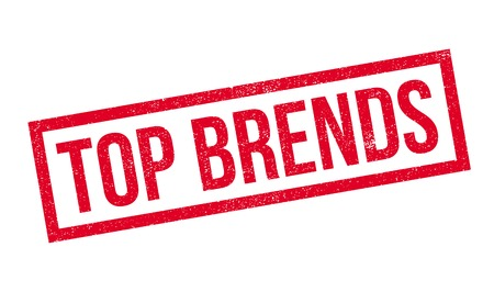 preeminent: Top Brends rubber stamp. Grunge design with dust scratches. Effects can be easily removed for a clean, crisp look. Color is easily changed. Illustration
