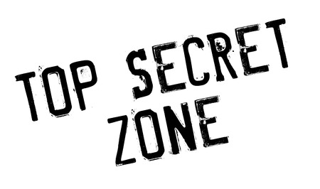 furtive: Top Secret Zone rubber stamp. Grunge design with dust scratches. Effects can be easily removed for a clean, crisp look. Color is easily changed.